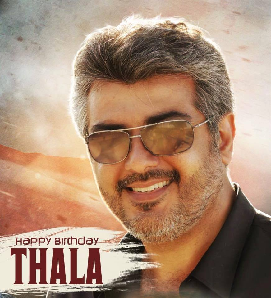 Happy Birthday 'Thala' Ajith..
