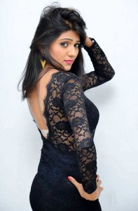 Shalu Photoshoot On Delightful Black Dress Gallery|jilgul.com