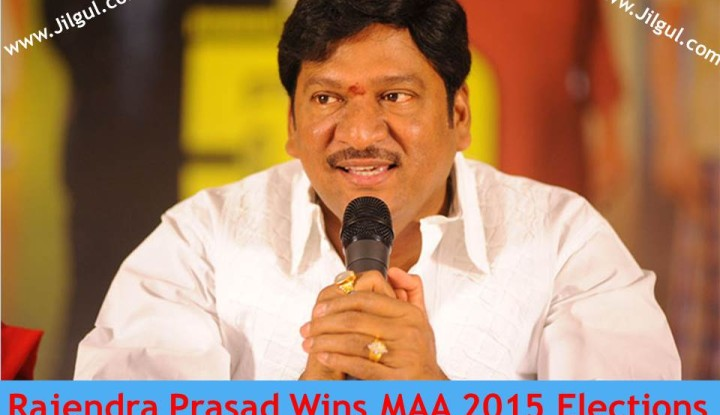 In this Maa election Rajendra Prasad was supported by Mega Star Brother Naga babu and Jai sudha is supported by murali mohan|jilgul.com
