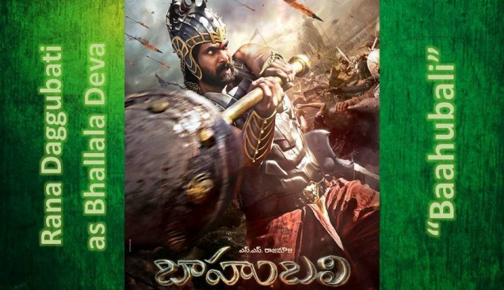 RanaDaggubati as Bhallaladeva from Baahubali