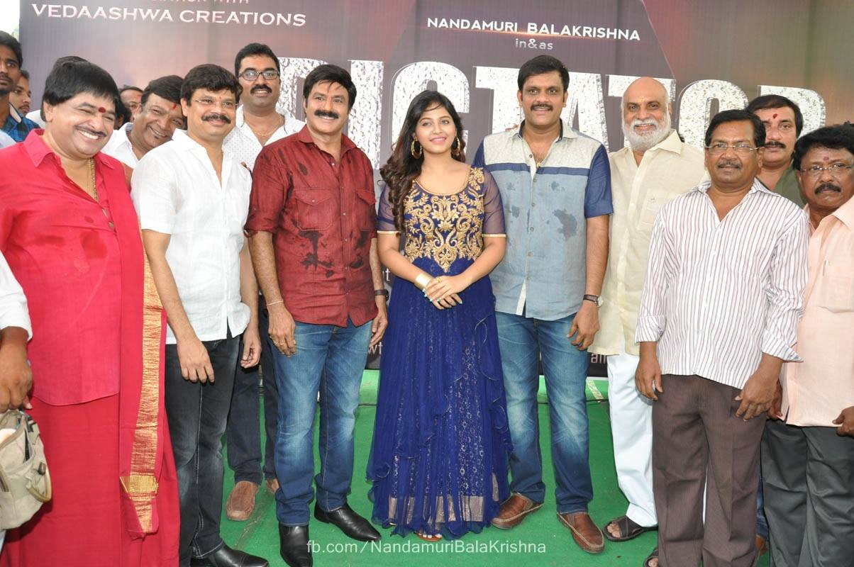 Nandamuri Balakrishna Dictator Movie Launch