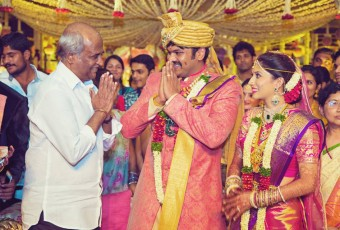 Manchu Manoj Wedding Photos with Celebrities