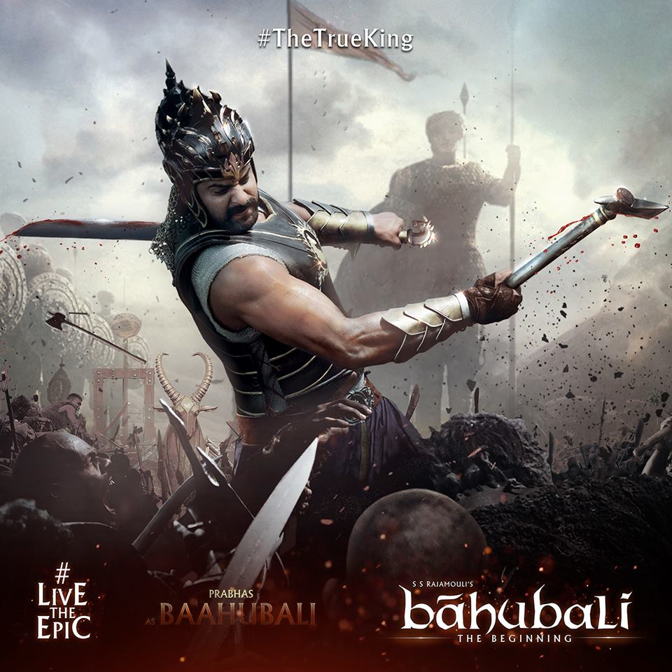 Prabhas as Baahubali!