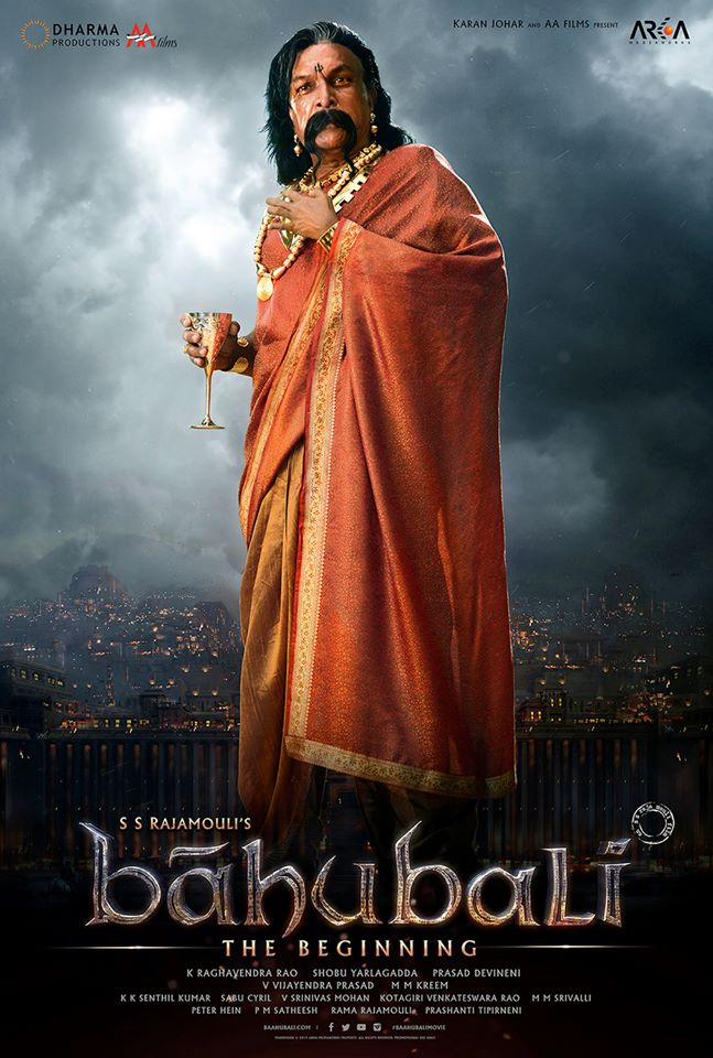 Nassar as Bijjaladeva from bahubali