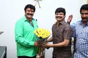 MLA NANDAMURI BALAKRISHNA AND BOYAPATI