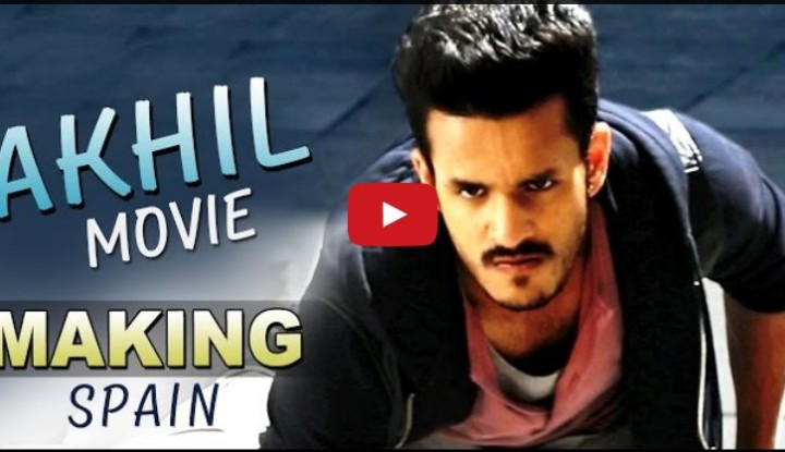 Akhil Akkineni Movie Making Video