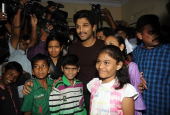 Allu Arjun at Make A Wish Foundation