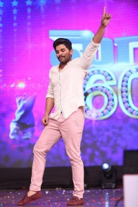 Allu arjun at MegaStar‬ ‪Chiranjeevi‬ 60th Birthday Celebrations Photos