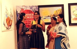 A Second International Group Art Exhibition Organized by Antero Art Group India