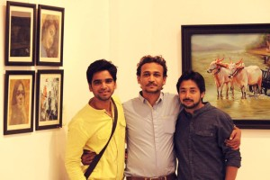 A Second International Group Art Exhibitio Organized by Antero Art Group India