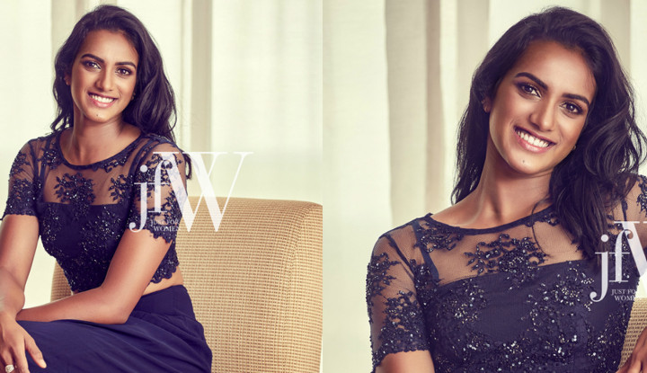 JFW Oct'16 Covershoot Video with P V Sindhu star of rio 2016, just for women cover page video, p v sindhu badminton star for rio olympics 2016, badminton star for rio olympics 2016, glam video shoot of p.v sindu