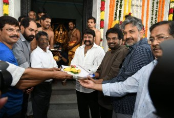 Balakrishna and puri film started shooting photos