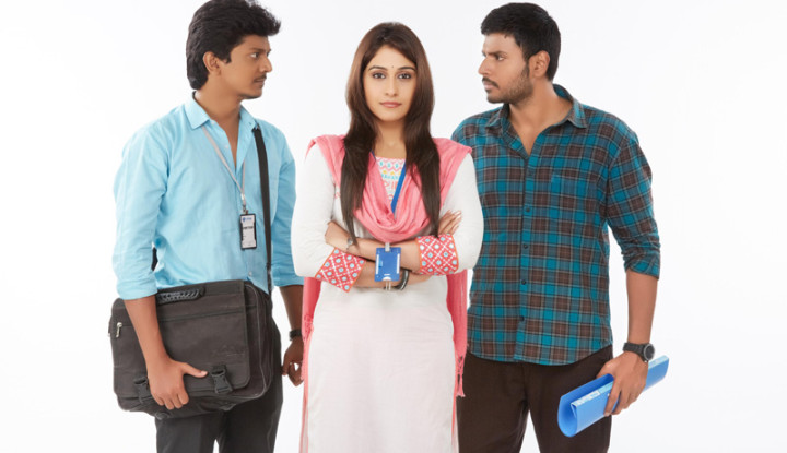 sandeep kishan and regina are paired for the movie nagaram.sandeep kishan looks very different with his looks and we can guess the story can be something different with the usual movies.