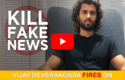 VIJAY DEVERAKONDA FIRES ON FAKE NEWS WEBSITES